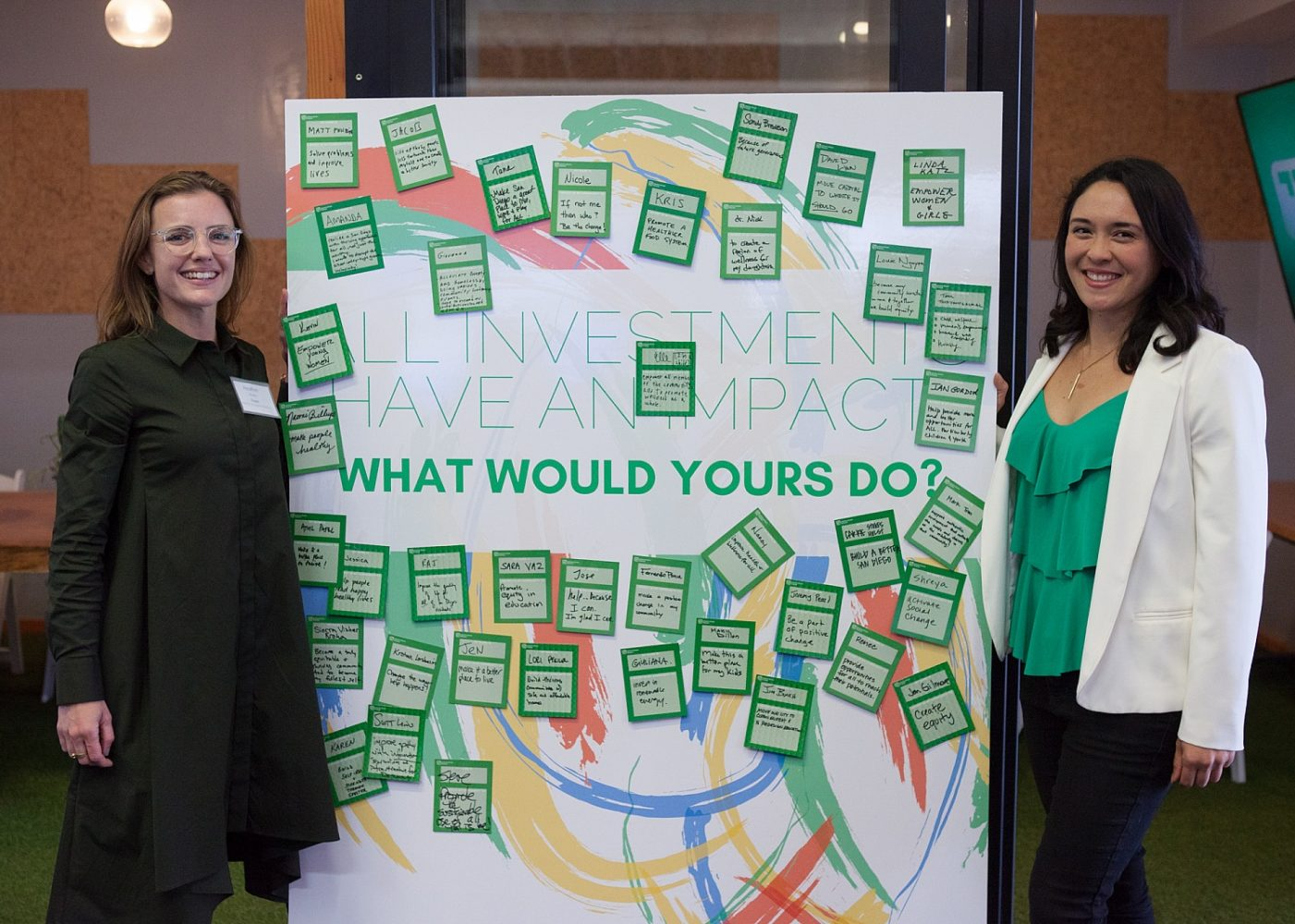 Heather Marie Burke & Lauren Grattan of Mission Driven Finance: All investments have an impact