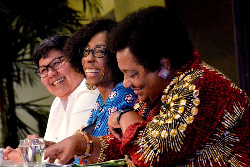 Optimistic Women of Color Roar breakfast panel