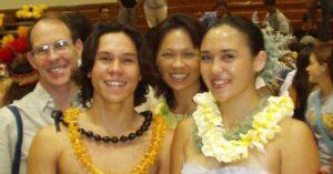 Lauren with family