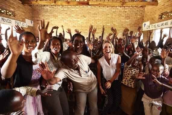 All Across Africa co-founder & artisans—investing in community
