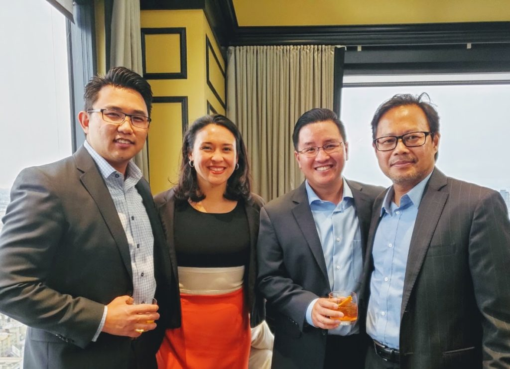 Celebrating the launch of AdvanceAPI, Members of Asian Business Association San Diego's Legacy Circle and Mission Driven Finance