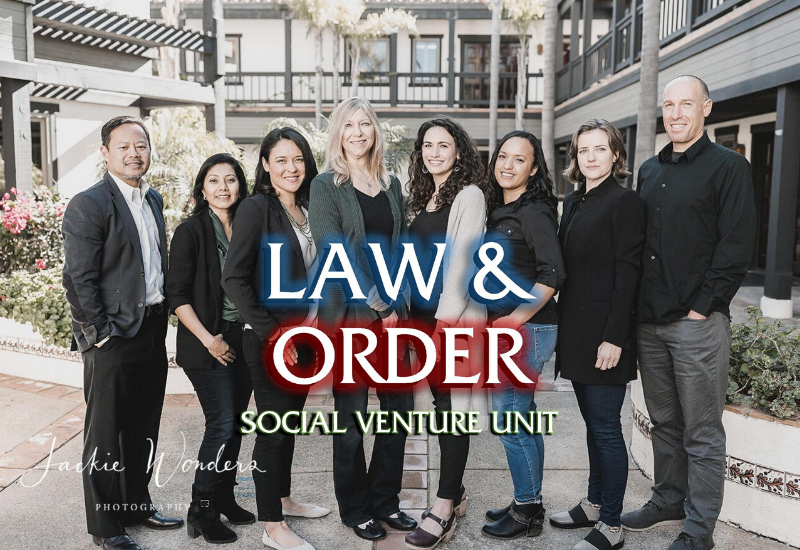 The Mission Driven Finance team, or Law & Order: Social Venture Unit. DUN-DUN