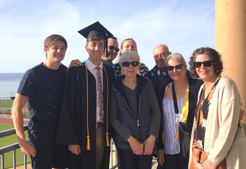 Zach Lickteig's graduation day!