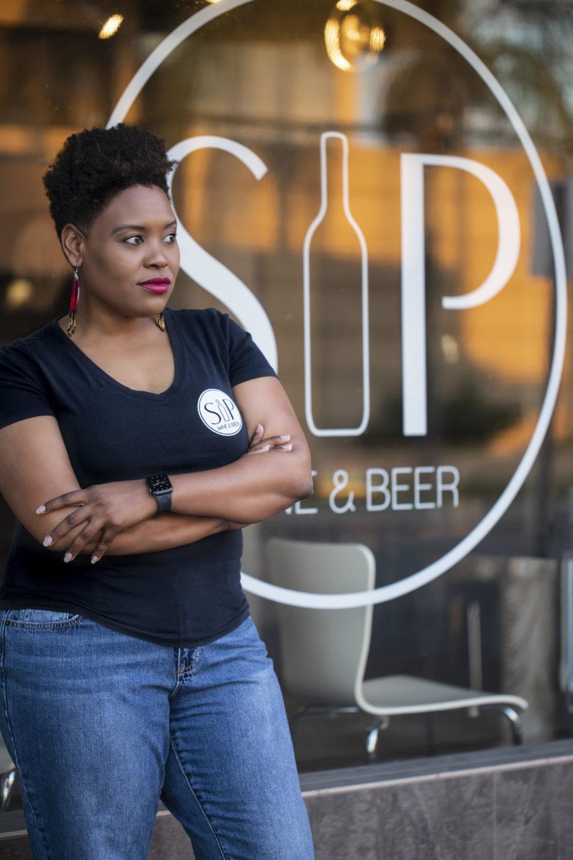 SIP wine and beer owner Cassandra Shaeg