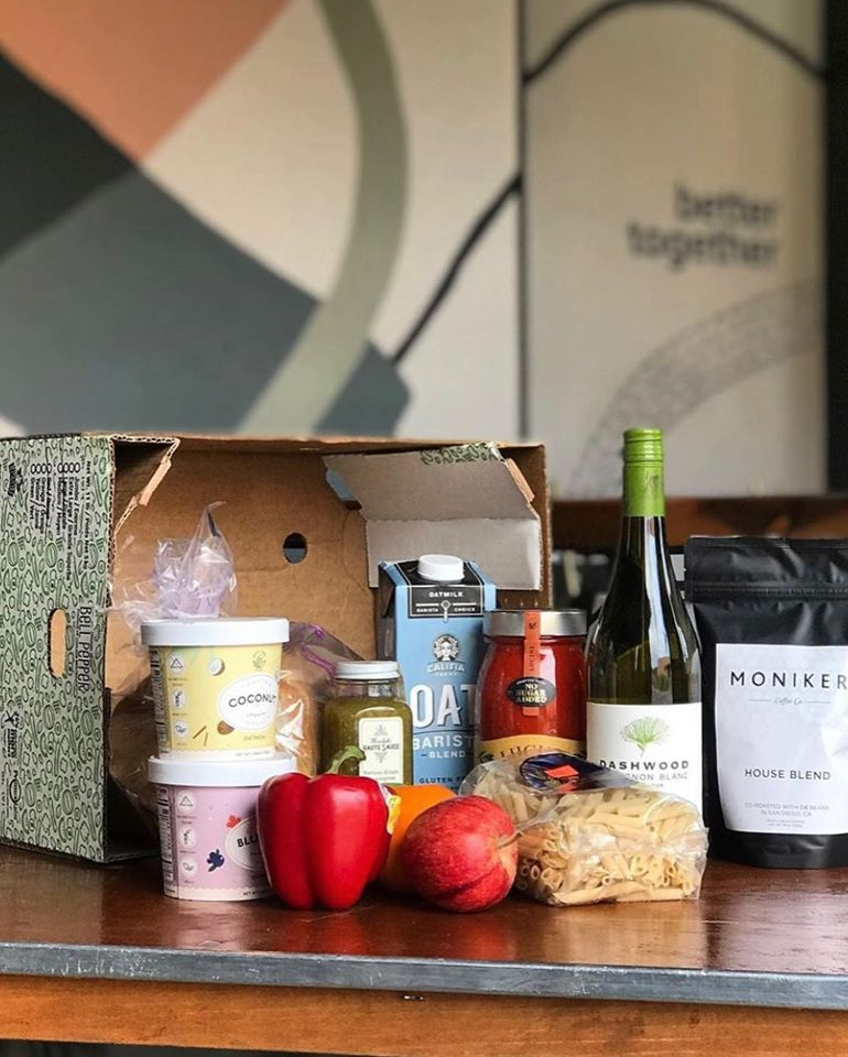 Moniker shifted it's focus to offering fresh produce, dry goods, beer & wine, personal essentials, and home goods online in response to COVID-19.