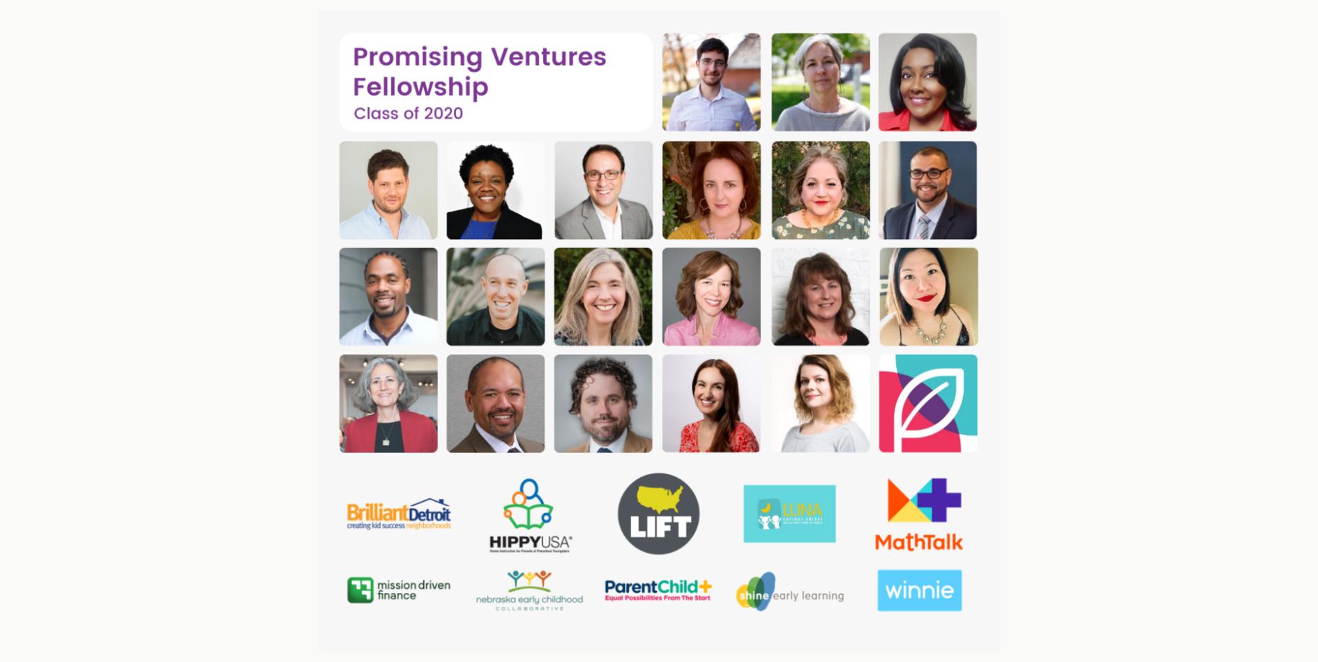 Promising Ventures Fellowship Class of 2020