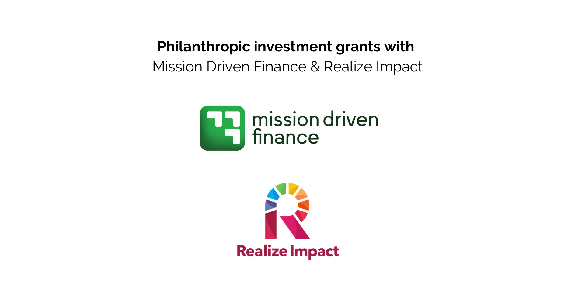 Now is the time to try philanthropic investing