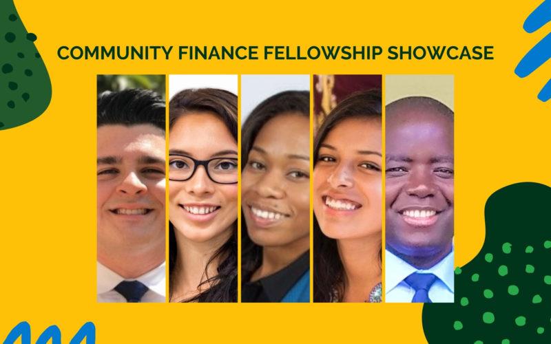 Community Finance Fellowship showcase