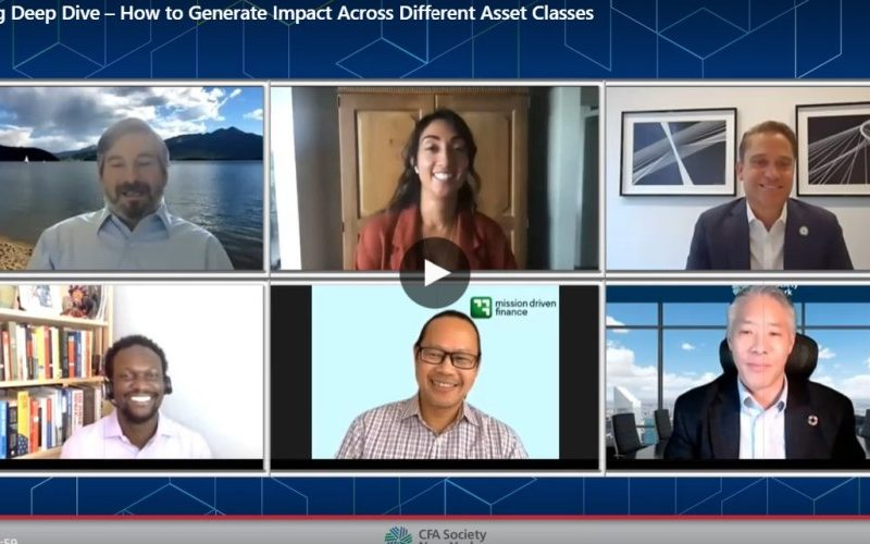 Impact investing deep dive — How to generate impact across different asset classes