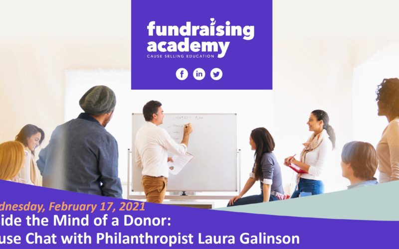 Inside the mind of a donor: Cause chat with philanthropist Laura Galinson