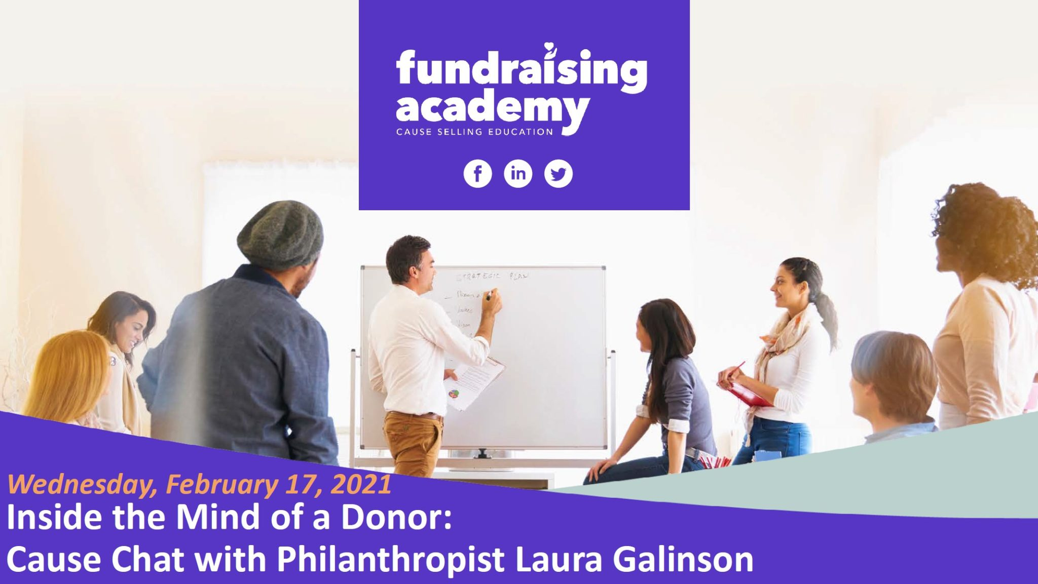 Fundraising Academy: Inside The Mind of a Donor: Cause Chat with Philanthropist Laura Galinson