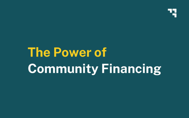 Power of Community Financing info session