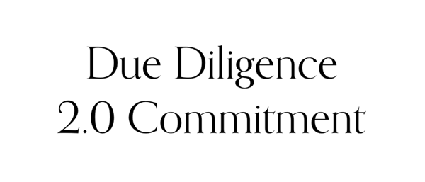 Due Diligence 2.0 Commitment