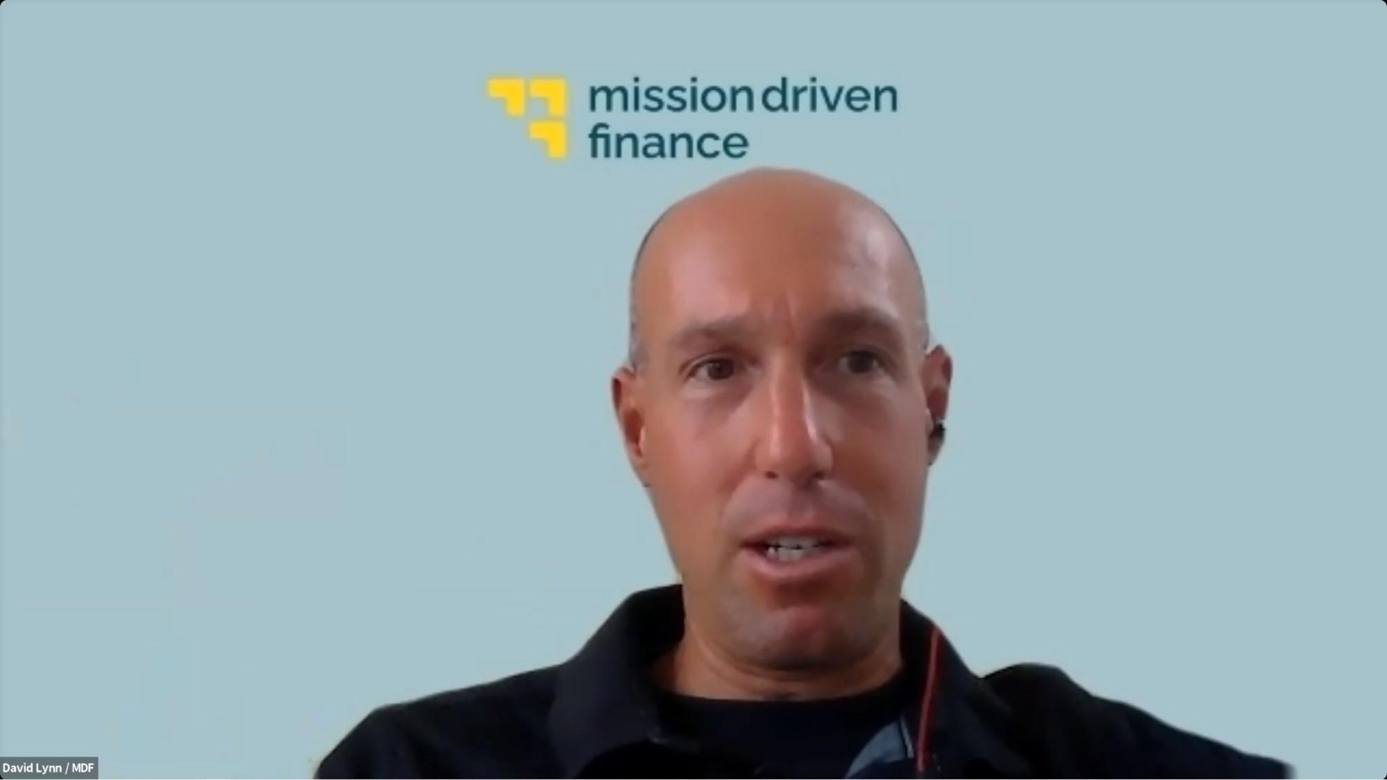 David Lynn speaks at Transformative 25 Funds Creative Financing