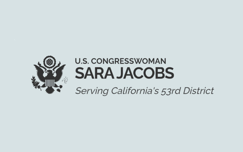 Congresswoman Sara Jacobs' Request for $1 Million in Child Care Funding for San Diego County Included in FY 2022 House Appropriations Bill