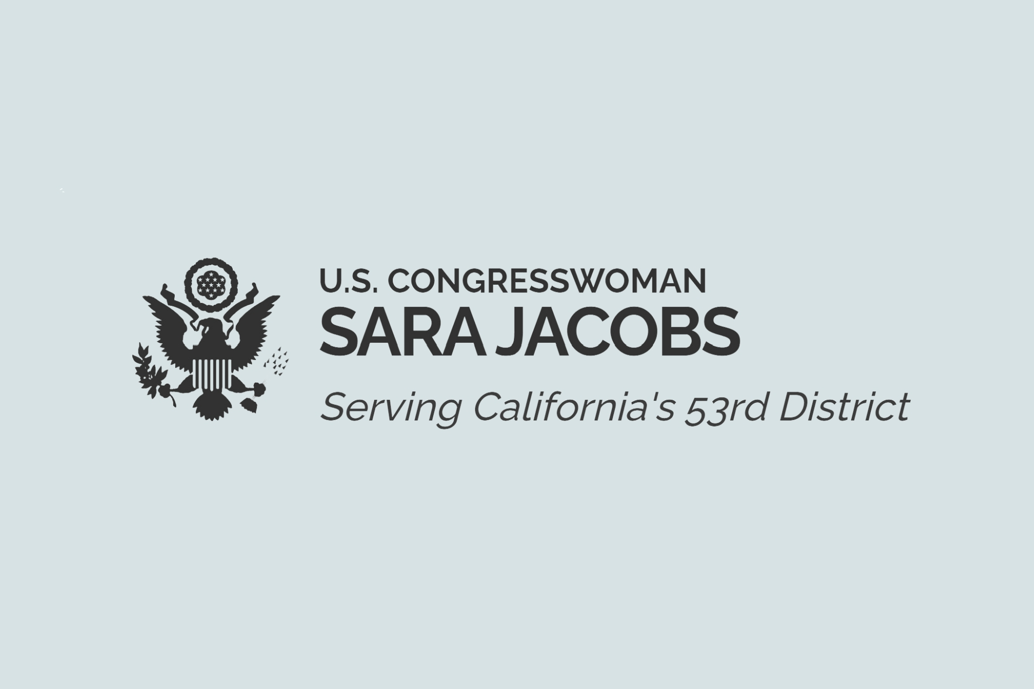 U.S. Congresswoman Sara Jacobs serving California's 53rd District