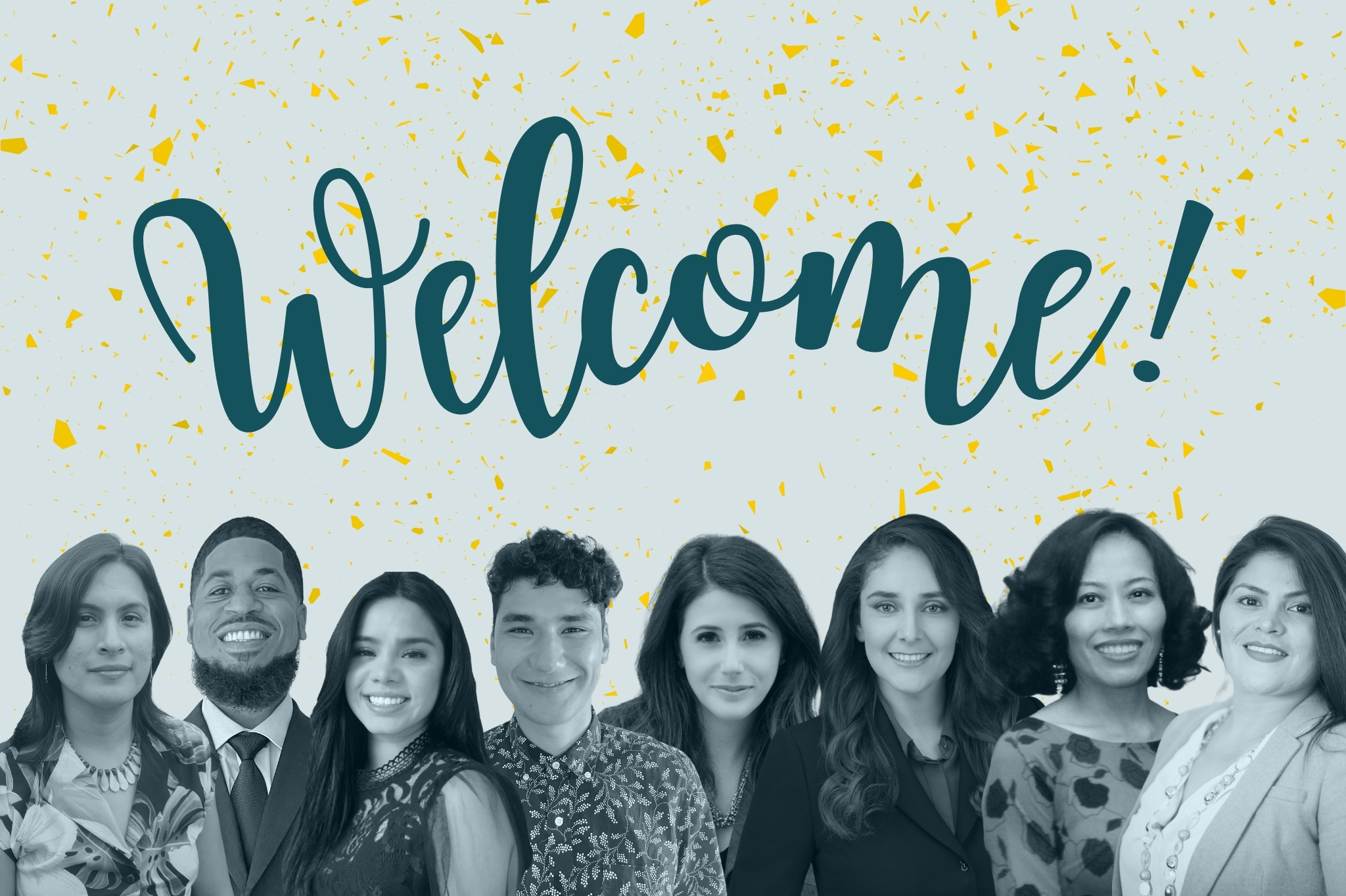 Welcome new team members: Xitlali, David, Farah, Edwin, Melissa, Oralia, Thai, Laura