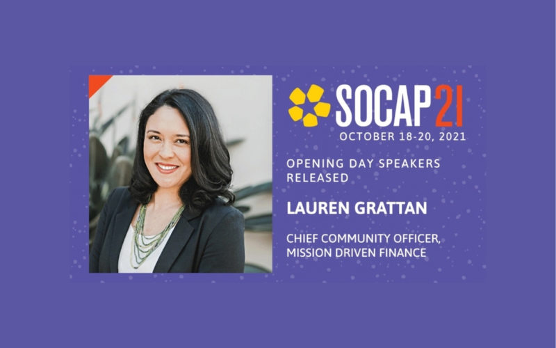 SOCAP21 Panel on Catalytic Capital & Intersectional Equity